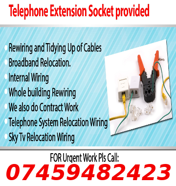 Telephone Extension Engineer